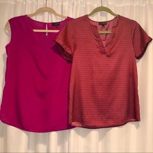 TWO Dress Tops from The Limited
